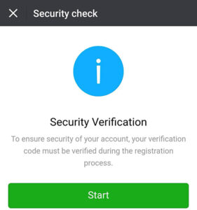 Wechat security check
